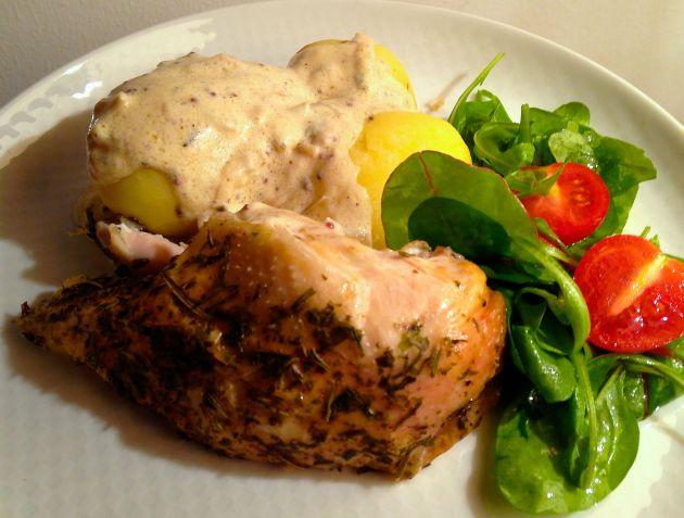 provencalsk kyckling