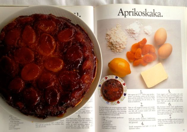 aprikoskaka