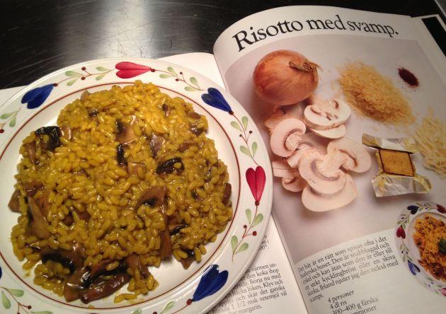 risotto med svamp